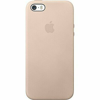 GENUINE Brand New Sealed Apple MF042LL/A Leather Case for iPhone 5/5s Beige