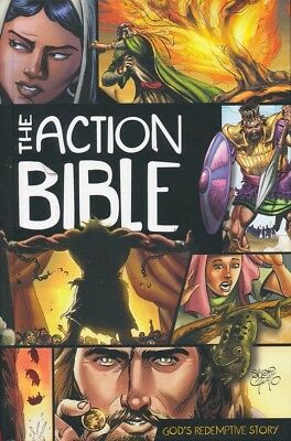 THE ACTION BIBLE - Hardcover by Sergio Cariello BRAND NEW