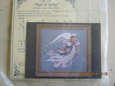 Angel Of Spring Crossstitch Chart By Lavender And Lace