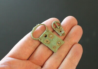 Medieval bronze buckle lot 15th century England