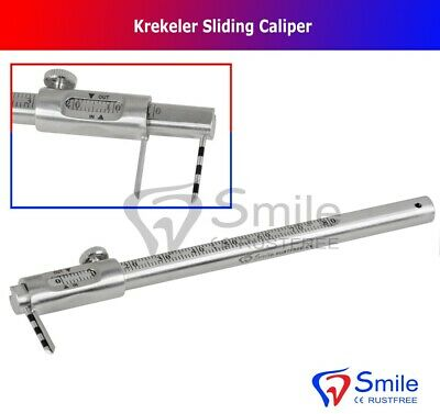 Krekeler Sliding Caliper Dental Implant Gauge Measuring Scale Smile Dentale UK