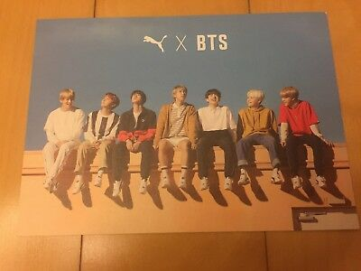 BTS Group [ PUMA Turin Official Photocard ] Special Limited Editon / NEW / +GIFT