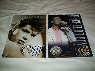 Cliff Richard Unofficial 2003 And 2005 Calendar New Old Stock And Sealed