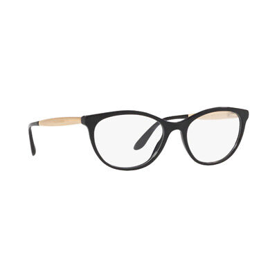 81a89957506c New Authentic Dolce   Gabbana Eyeglasses Frames DG3310 501 Black Demo Lens  54mm