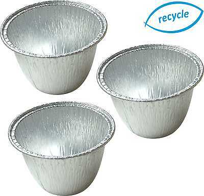 Mini Foil Pudding Basins, Basin, Pie Dishes, Cases, Round, Containers Container