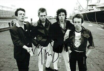 Paul SIMONON Signed The CLASH 12x8 Photo 2 AFTAL Autograph COA