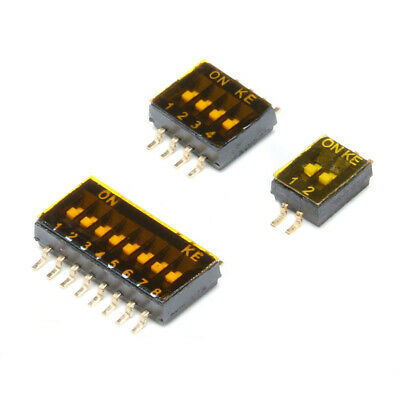 SMD Slide Dip Switch Module 1.27mm 2 4 8 Position SPST SMT Toggle Switch PCB