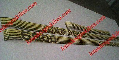 John deere 6000 series stickers / decals