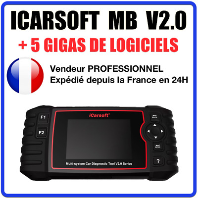 ✅ SCANNER ICARSOFT MB V2.0 - Compatible Mercedes Sprinter Smart - MB STAR