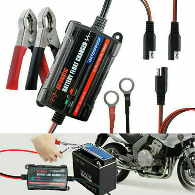 Motorcycle Battery Charger & Maintainer,6V 12V Intelligent Fully Automatic Smart