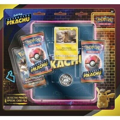 Pokemon TCG: Detective Pikachu Special Case File Trading Cards