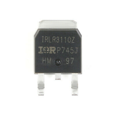 5Pcs IRLR3110ZTRPBF TO-252-3  Transistor N-Channel 100V/63A SMD Power MOSFET