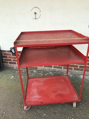 Warehouse trolley - heavy duty construction - good condition