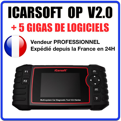 iCarsoft OP V2.0 Valise Diag PRO OBD2 compatible Opel / Vauxhall - SNOOPER DS150