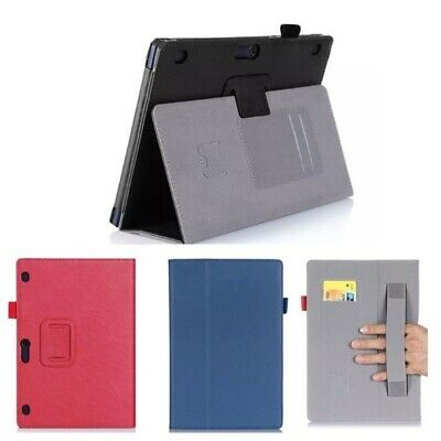 For Lenovo Tab E10 10.1 Inch 16GB Tablet Luxury PU Leather Case Cover with Stand