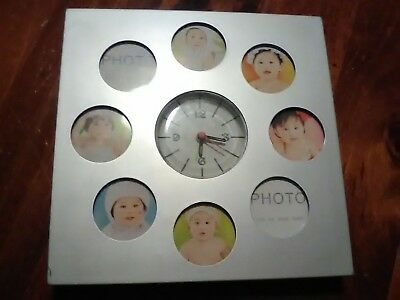 Baby Picture Clock .... GOOD USED WORKING CONDITION