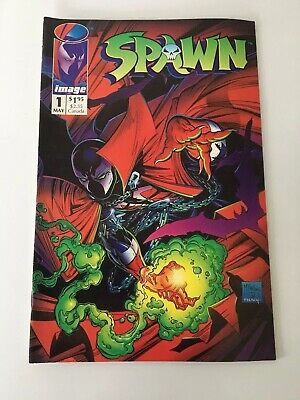 Spawn Issue 1 First Printing 1992 Image Comics Excellent Condition