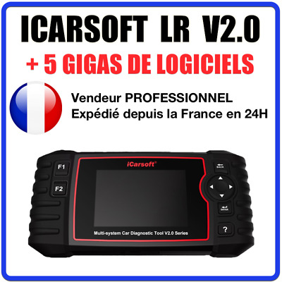 ★ ICARSOFT LR V2.0 ★ Diagnostic Multi Systèmes - Compatible Land Rover / Jaguar