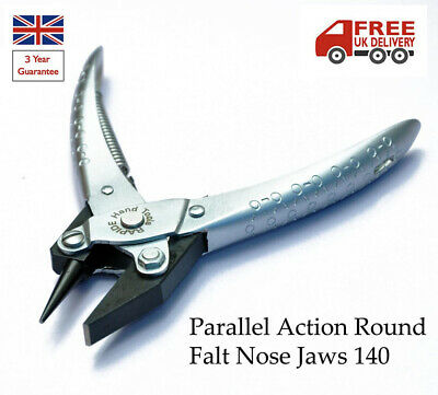 Parallel Action Round Flat Nose Jaws Pliers For Beading Jewellery Watch Wire