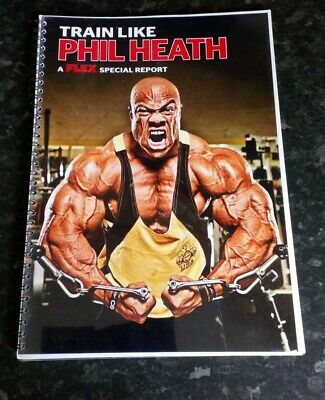 Train Like Phil Heath A FLEX Special Report UK  Bodybuilding and Fitness