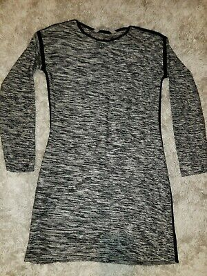 6de804936c4 ATHLETA SWEATER DRESS Charcoal Knit Size XL -  9.00