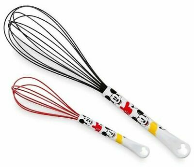 Disney Parks Exclusive Mickey Mouse 2 Set Whisk Kitchen Utensil Set NEW!!