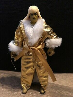 WCW WWF WWE Goldust with Robe Wrestling Elite Action Figure Kid Child Toy Mattel