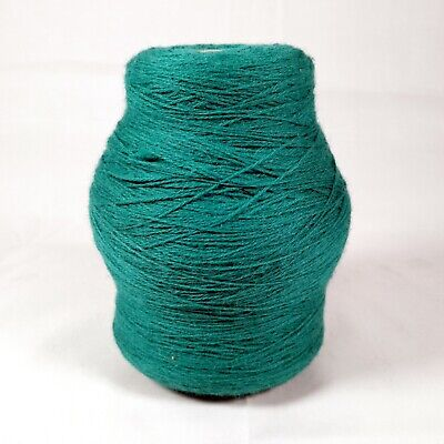 Forsell Machine Knitting Yarn Cone - Lagoon 978 / Turquoise Green | 3 ply | 435g