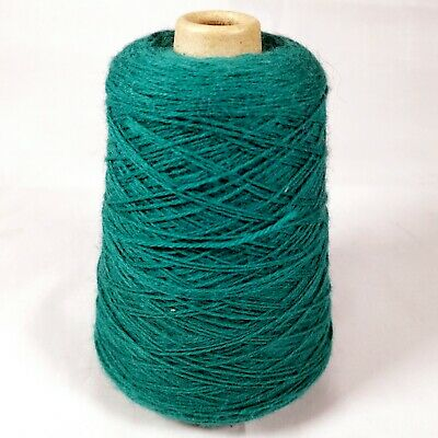 Forsell Machine Knitting Yarn Cone - Lagoon 978 / Turquoise Green | 3 ply | 295g