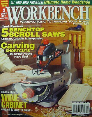 Workbench Magazine's ARCHIVE DVD + *Extras* PDF's Wood Woodworking Popular Fine