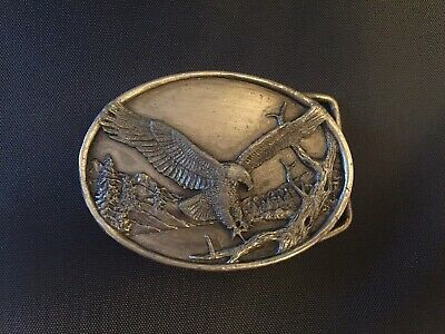 Vintage 1983 Siskiyou Small **American Bald Eagle** Belt Buckle