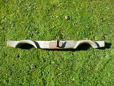 French Antique Large Oak Double Ox Yoke. To Convert To A Light Or Pot Hanger?