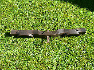 French Antique Large Wooden Double Ox Yoke. To Convert To A Light Or Pot Hanger?