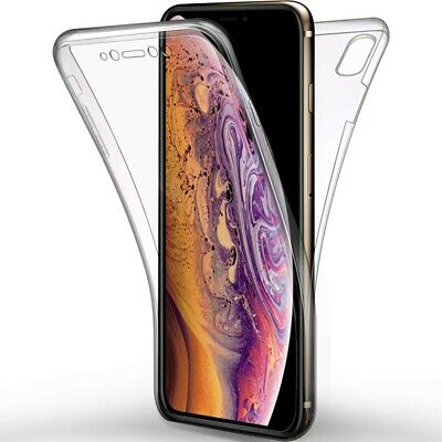 Shockproof 360 TPU Cover Front and Back Case for iPhone 11 7 8 PLUS XR X XS Max