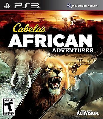 Cabela's African Adventures (Playstation 3, PS3) Brand New Factory Sealed