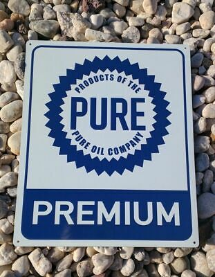 Products of the Pure Oil Company Advertising Premium Metal Sign 10x12 50153