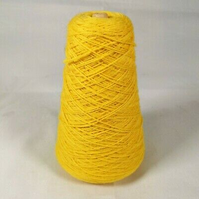 Forsell Machine Knitting Yarn Cone - Kingcup 136 / Yellow | 4 ply | 228g