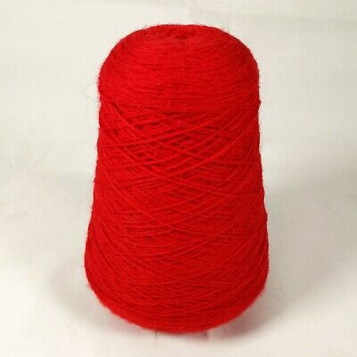 Forsell Machine Knitting Yarn Cone - Hollyberry 951 Lot 13 / Red | 3 ply | 335g