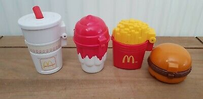 McDonald's 1996 Shake Burger Chips Sundae Ronald and gang vintage