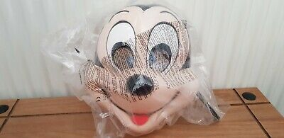 McDonald's micky mouse face mask Disney new in bag