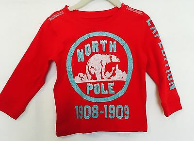 Peek Little Peanut Red Long Sleeve Top NWT. 6 -12 Months. Price $ 12