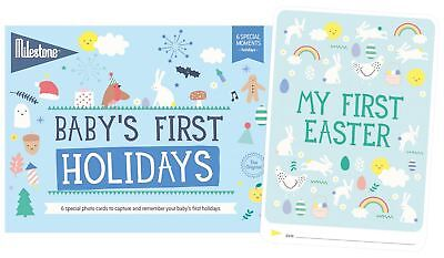 Milestone BABY'S FIRST SPECIAL MOMENTS - HOLIDAYS Baby Gifts BNIP