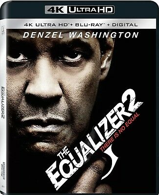 The Equalizer 2 There Is No Equal(4K Ultra Hd+Blu-Ray+Digital)W/Slipcover New