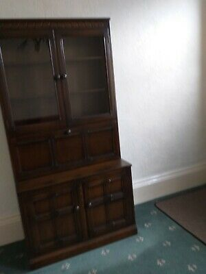 Ercol dresser/sideboard,Old colonial dark wood stain , excellent condition