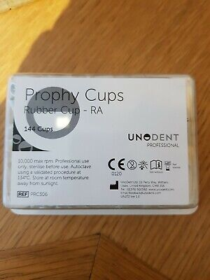 Dental Rubber Cups / Prophy Cups RA pk144 UK SELLER