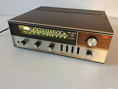 Vintage Kenwood KS 33 AM/FM Stereo Receiver TESTED SERVICED LED upgrade EXC!
