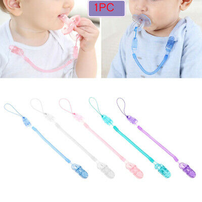 Anti-lost Chain Infant Dummy Clips Baby Teething Pacifier Chain Nipple Strap
