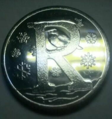 A-Z 10p Alphabet COIN 2019 LETTER R FOR ROBIN FROM SEALED BAG LATEST RELEASE