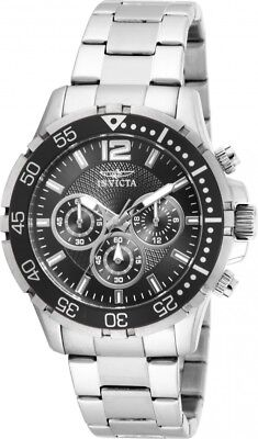 USED Invicta Russian Diver Men's Silver Stainless Steel Swiss Quartz Watch 16287