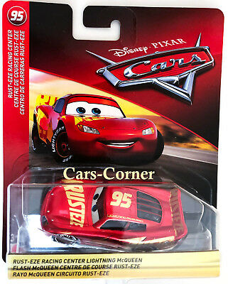 Disney Pixar Cars 3 Rust-eze Lightning McQueen - Metallic Finish Edition NEU OVP